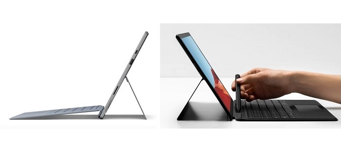Surface Pro 7 Surface Pro X