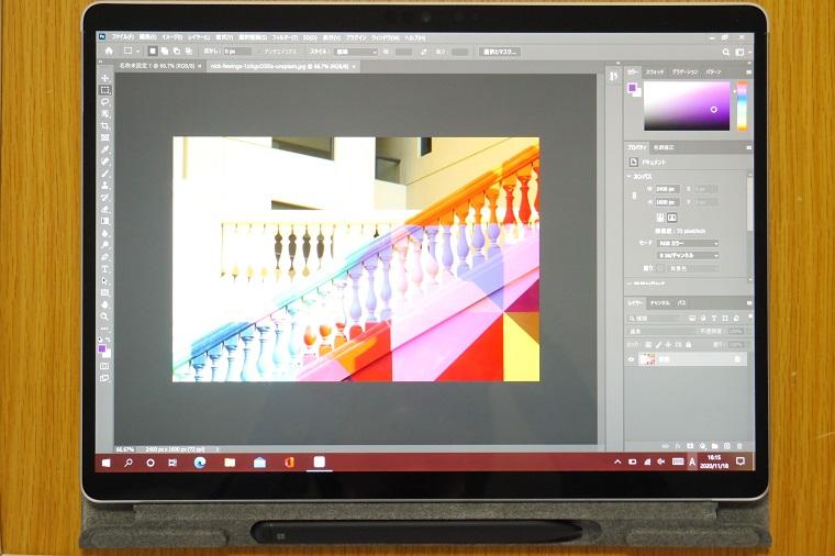 Surface Pro X Photoshop CC