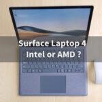 Surface Laptop 4 Intel AMD