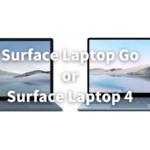 Surface Laptop Go 4 どっち