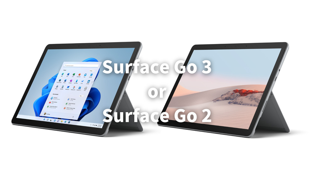 Surface Go 3 Go 2 比較
