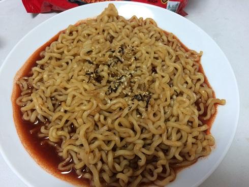 ヘクブルダック炒め麺
