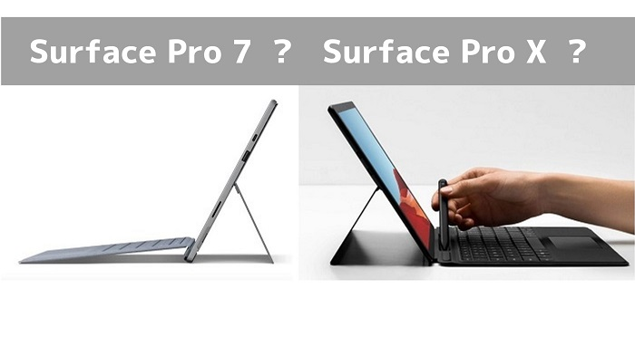 Surface Pro 7 Surface Pro X