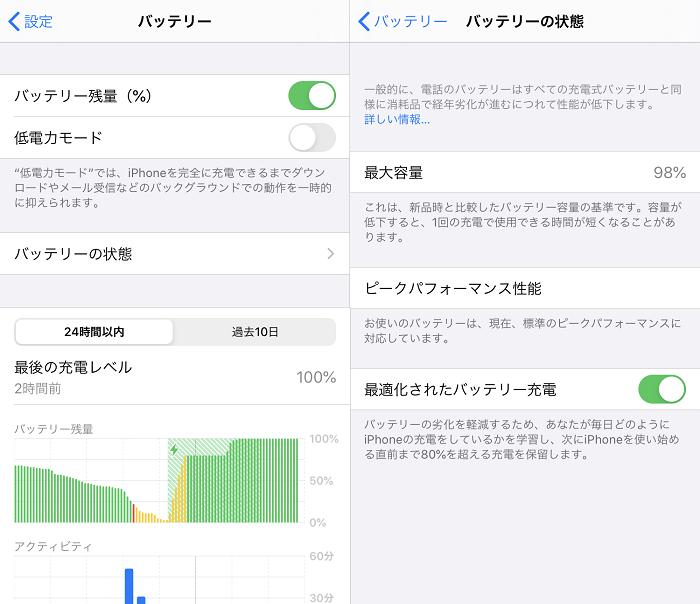 iPhone 5s/SE/8/9 比較