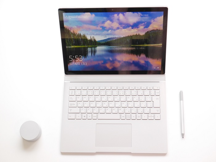 Surface Book 3 13.5インチ 実機レビュー