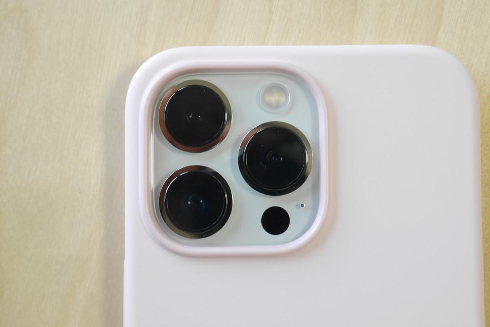 Mag Safe対応 iPhone 13 シリコーンケース チョークピンク